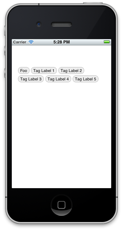 Terracoding - DWTagList for iOS